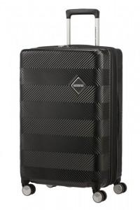 American Tourister Flylife rozšiřitelný cestovní kufr TSA 67 cm 70-81 l Black