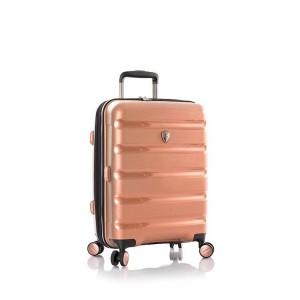Heys Metallix S elegantní palubní kufr Duraflex TSA 53 cm 51 l Rose Gold