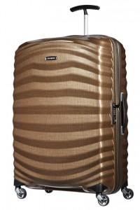 Samsonite Cestovní kufr Lite-Shock Spinner 98V 98,5 l – hnědá