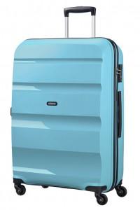 American Tourister Cestovní kufr Bon Air Spinner 85A 91 l – světle modrá