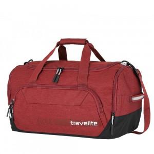 Travelite Cestovní taška Kick Off Duffle M 45 l červená