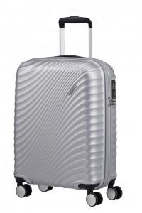 American Tourister Kabinový cestovní kufr Jetglam 71G 35,5 l – stříbrná