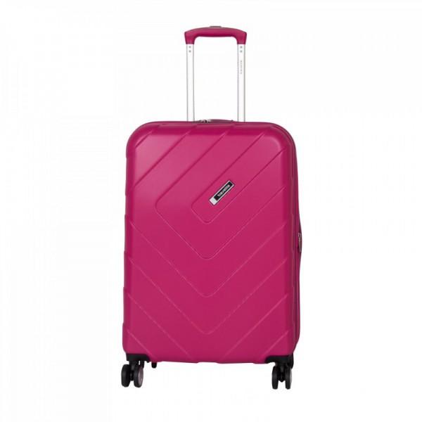 Travelite Kalisto 4w M cestovní kufr TSA 67 cm 70/80 l Pink