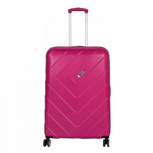 Travelite Kalisto 4w L cestovní kufr TSA 76 cm 106 l Pink