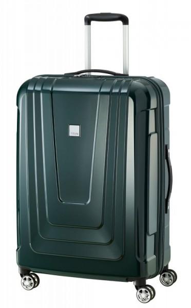 Titan X-ray 4w M+ Made in Germany cestovní kufr TSA 72 cm 87 l Racing Green