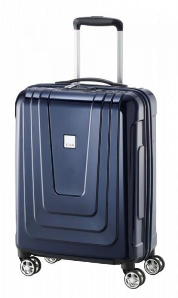 Titan X-ray 4w S Made in Germany palubní kufr TSA 55x40x20 cm 40 l Space Blue