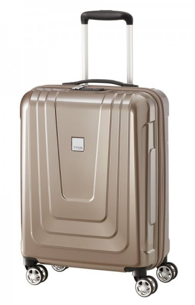 Titan X-ray 4w S Made in Germany palubní kufr TSA 55x40x20 cm 40 l Café au Lait