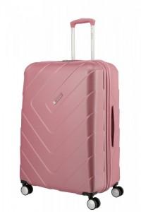 Travelite Kalisto 4w L cestovní kufr TSA 76 cm 106 l Rose