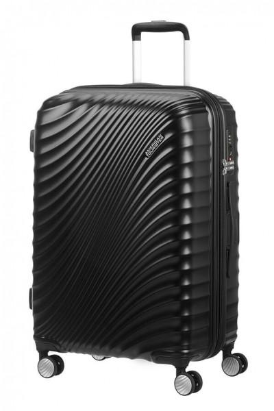American Tourister Cestovní kufr Jetglam Spinner EXP 71G 69,5/77,5 l – černá