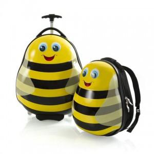 Heys Sada batohu a kabinového kufru Travel Tots Lightweight Kids Bumble Bee