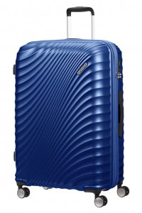 American Tourister Cestovní kufr Jetglam Spinner EXP 71G 97/109 l – modrá