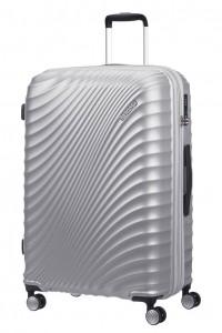 American Tourister Cestovní kufr Jetglam Spinner EXP 71G 97/109 l – stříbrná