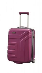 Travelite Vector 2w S palubní cestovní kufr TSA 55x40x20 cm 44 l Plum
