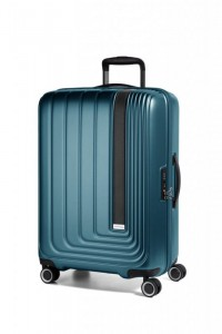 March Beau Monde S palubní kufr PC/ABS TSA 55 cm 41 l Omega Blue Metallic