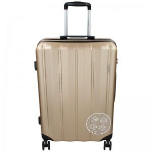 Cestovní kufr Marina Galanti Nova L – zlatá 95l