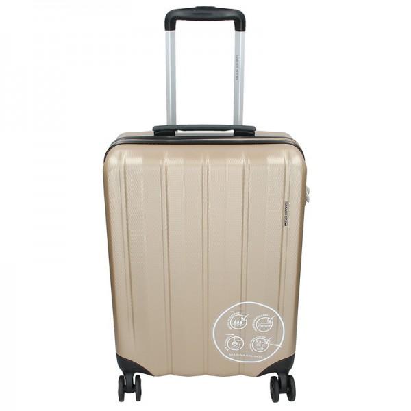 Cestovní kufr Marina Galanti Nova S – zlatá 39l