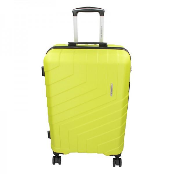 Cestovní kufr Marina Galanti Reno M – fosforová 70l