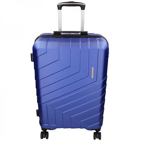 Cestovní kufr Marina Galanti Reno L – modrá 103l
