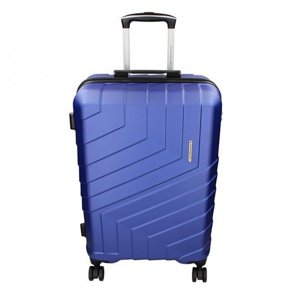Cestovní kufr Marina Galanti Reno M – modrá 70l