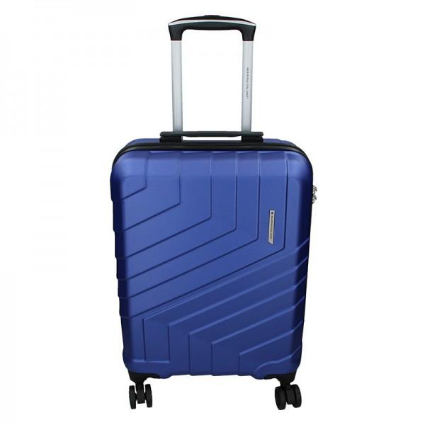 Cestovní kufr Marina Galanti Reno S – modrá 39l