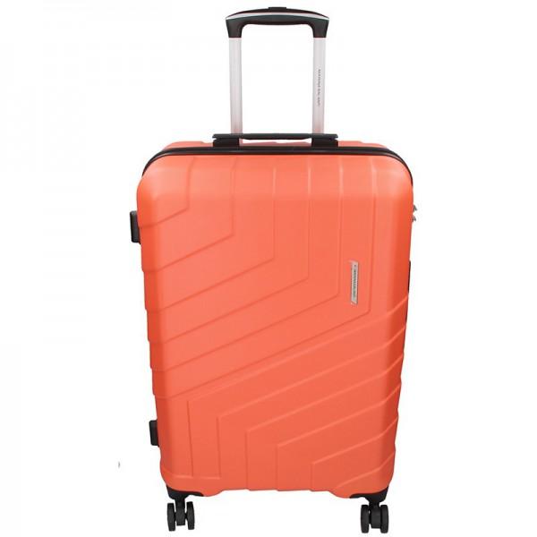 Cestovní kufr Marina Galanti Reno L – lososová 103l