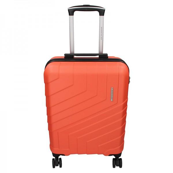 Cestovní kufr Marina Galanti Reno S – lososová 39l