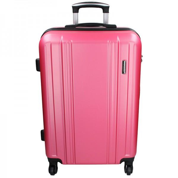 Cestovní kufr Madisson Reina L – růžová 89l