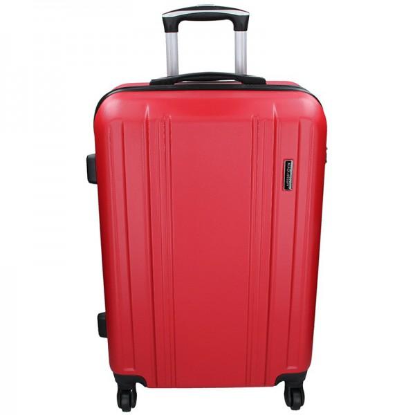 Cestovní kufr Madisson Reina L – červená 89l