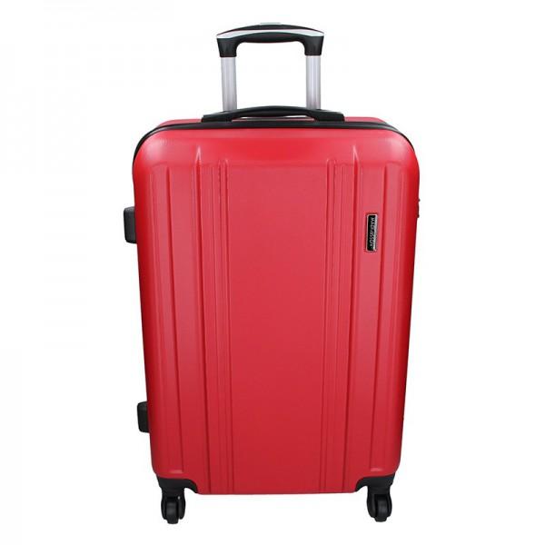 Cestovní kufr Madisson Reina M – červená 59l