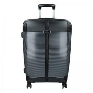 Cestovní kufr Snowball Endrs M – černá 79l