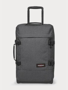Kufr Eastpak Tranverz S Black Denim Šedá 561220