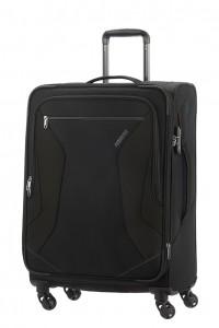 American Tourister Cestovní kufr Eco Wanderer Spinner 83G 73,5/81 l – černá