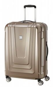 Titan X-ray 4w M+ Made in Germany cestovní kufr TSA 72 cm 87 l Café au Lait