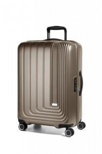 March Beau Monde L cestovní kufr PC/ABS TSA 72 cm 101 l Silver Bronze Metallic