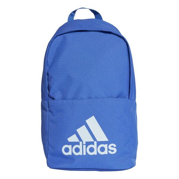 adidas Classic Backpack M Basic modrá Jednotná 4796248