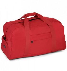 MEMBER'S HA-0047 cestovní taška 35x65x35 cm červená 80 l