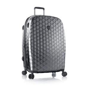 Heys Motif Homme L luxusní cestovní kufr TSA 76 cm 130 l Gunmetal