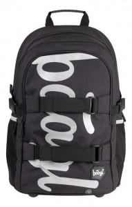 BAAGL Školní batoh Skate Black A-7214 – černá
