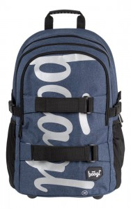 BAAGL Školní batoh Skate Blue A-7215 – modrá