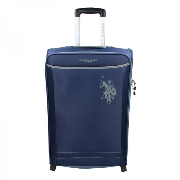 Kabinový cestovní kufr U.S. POLO ASSN. Mauris M – modrá 58l
