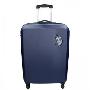 Cestovní kufr U.S. POLO ASSN PALMS L – modrá 102l