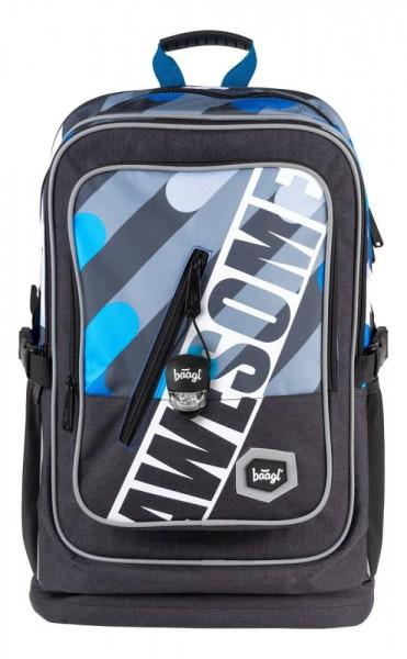 BAAGL Školní batoh Cubic Awesome A-7208