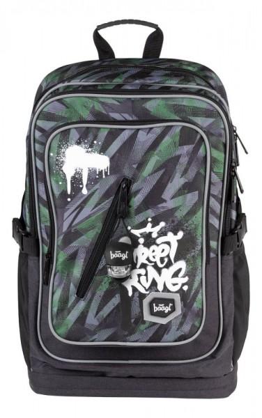 BAAGL Školní batoh Cubic Street King A-7210