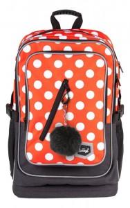 BAAGL Školní batoh Cubic Puntíky A-7211