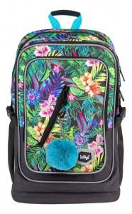 BAAGL Školní batoh Cubic Tropical A-7212