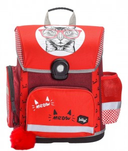 BAAGL Školní aktovka Kočka A-7193