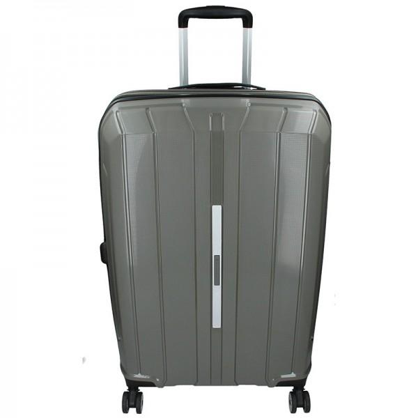 Cestovní kufr Snowball Barcelona L – šedá 95l