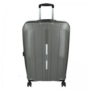 Cestovní kufr Snowball Barcelona M – šedá 65l