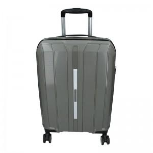 Cestovní kufr Snowball Barcelona S – šedá 35l