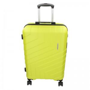 Sada 3 cestovních kufrů Marina Galanti Reno S, M, L – fosforová